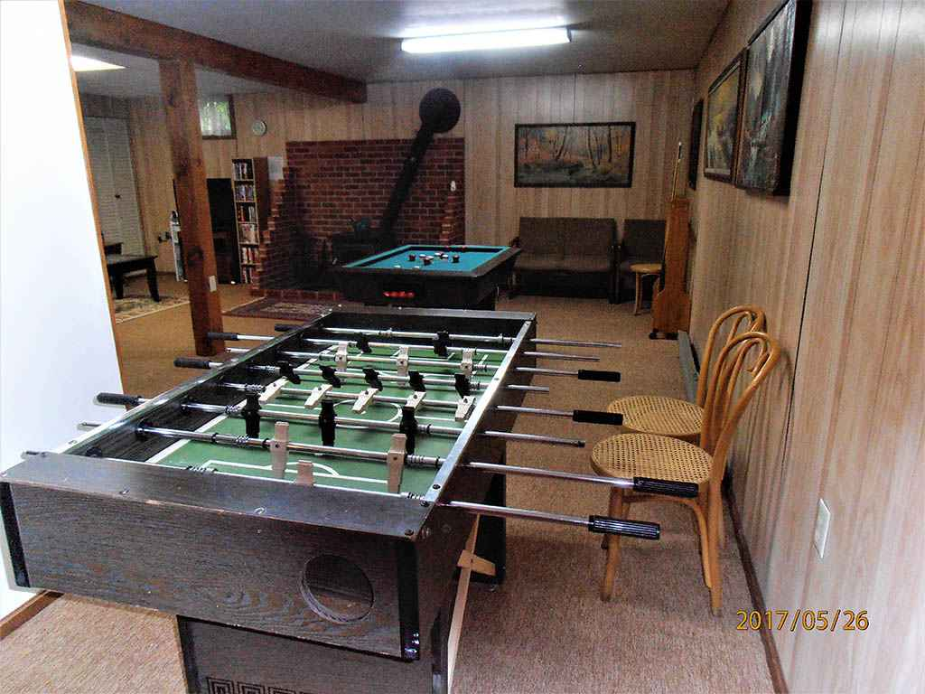 foosball and pocket pool